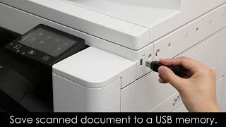 Video How to Scan to USB Memory for iR C3020 download MP3, 3GP, MP4, WEBM, AVI, FLV Oktober 2018