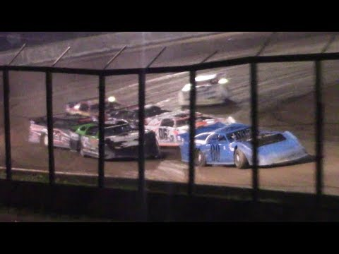 RUSH Crate Late Model Heat One | Eriez Speedway | 9-22-17