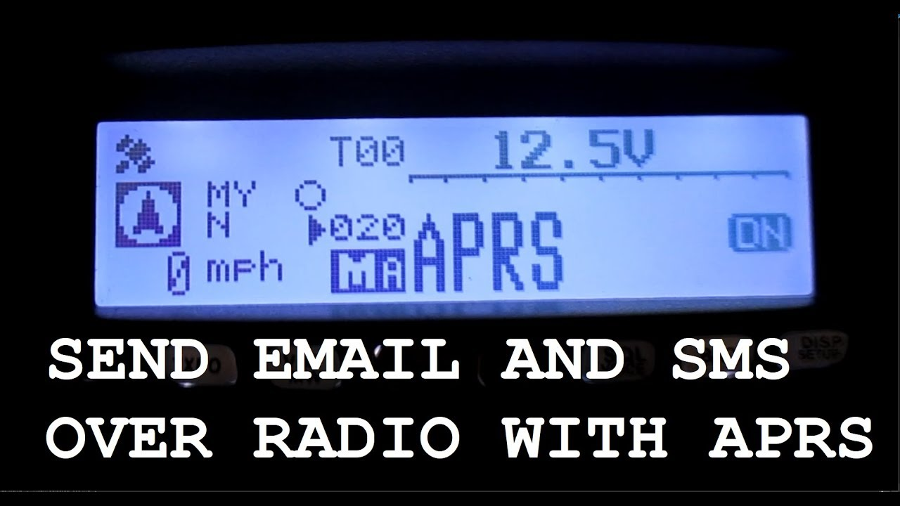 Download How to Send EMAIL and SMS Text with APRS