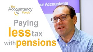 Paying less tax with pensions