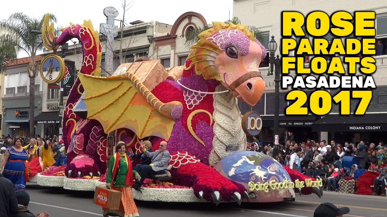 Rose Parade 2017 Amazing Flower Covered Floats In Pasadena
