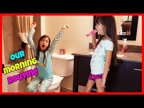MORNING ROUTINE! - Weekend Edition! - TwoSistersToyStyle