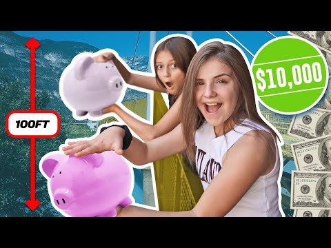 LAST TO Crack The PIGGY BANK WINS $10,000 CHALLENGE **EPIC REACTION** 🐖 💵 | Piper Rockelle