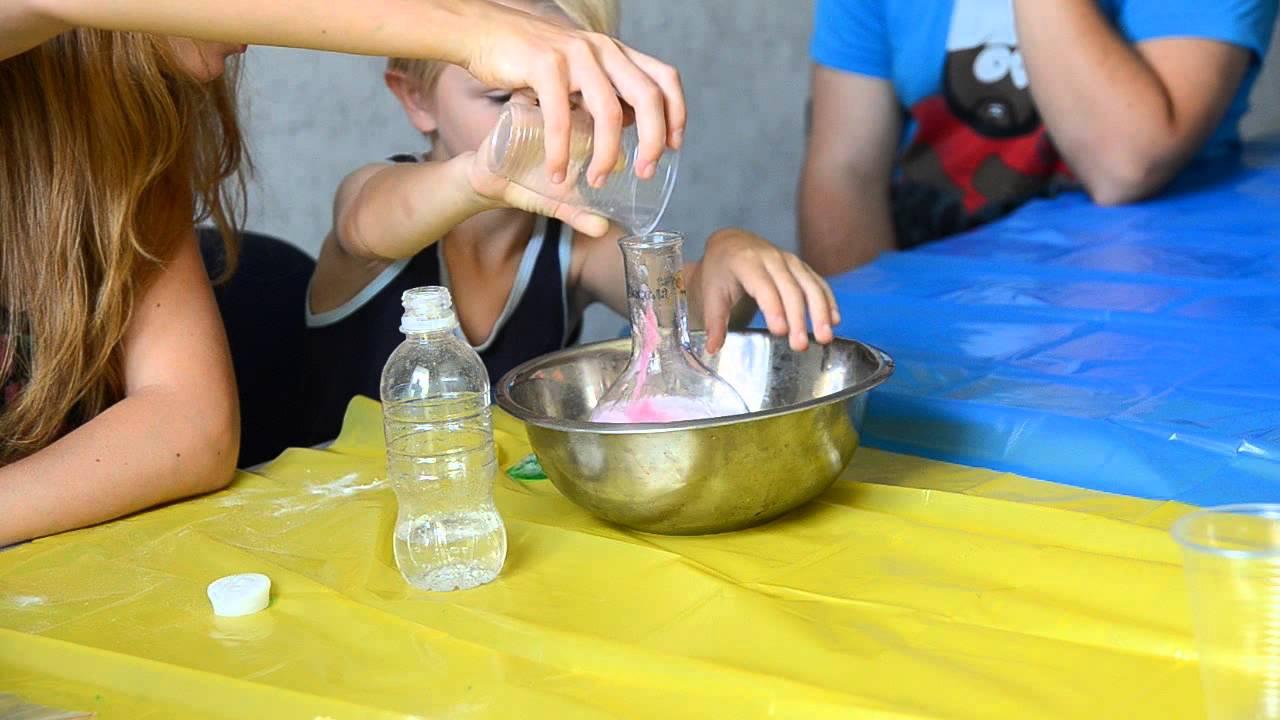 Химические опыты в домашних условиях с детьми