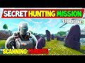 "*NEW* HUNTING PARTY SKIN SECRET STORYLINE! ""SCANNING TARGETS (CUBE RUINS!)"" Fortnite Season 6 End!"