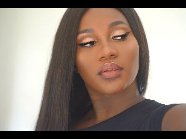 Maquilage Glam avec la palette Carli Bybel x BH Cosmetics