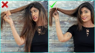 9 HAIR HACKS Every Girl Must Know | Rinkal Soni