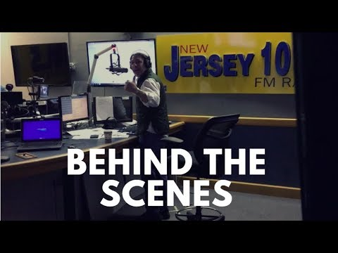 Behind the scenes at NJ101.5 with Dennis