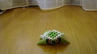 3D Origami Mini Turtle Tutorial
