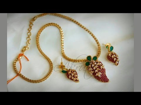 22k Gold Indian Jewellery Designs (part 09)
