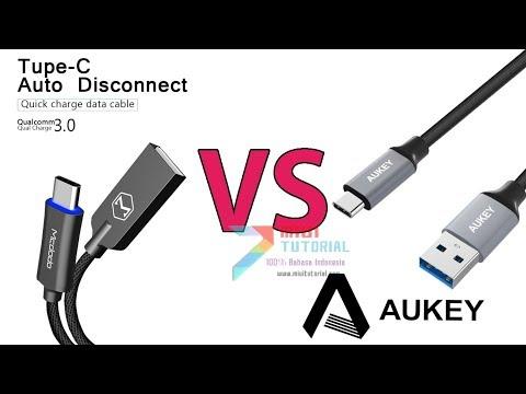 Mana yang Layak Untuk Dibeli? MCdodo vs AUKEY: Rekomen Kabel USB Type-C Xiaomi