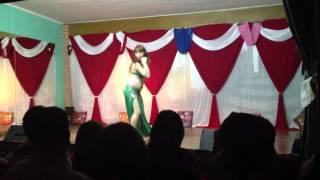 """Carmen Cobos, Festival las 1001 danzas de Estela Zaid."""" Khatwet el Ghazaalah"""", Hossam Ramzy"""