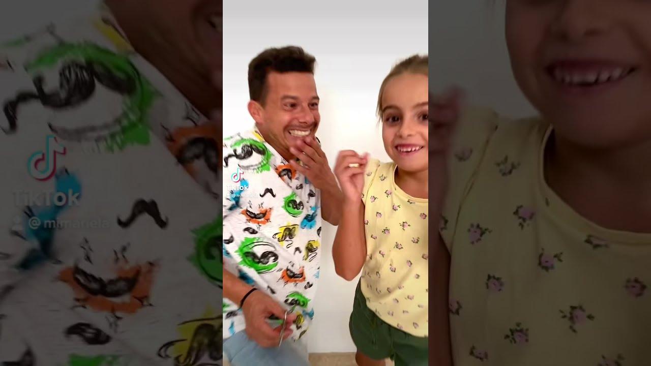 BROMA CON FINAL INESPERADO 😱   MARIELA y su padre *RITOKER* #Shorts