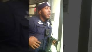 Shopping While Black. Then Comes THE NEGRO With A Badge. DC Police. Incredible, Wow..
