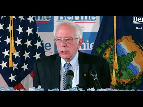 LIVE FROM BURLINGTON: BERNIE REACTS TO SUPER TUESDAY RESULTS