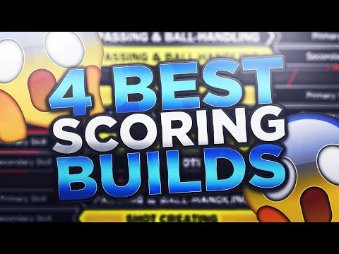 *MUST WATCH* BEFORE SPENDING VC ON A ARCHETYPE! TOP 4 BEST SCORING BUILDS 🔐 IN NBA 2K18 PLAYGROUND
