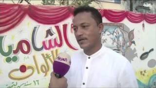 حارة الشامية في جازان تتزين بلوحات فنية ثلاثية الأبعاد