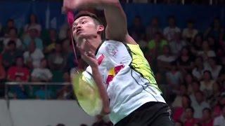 L. Dan v Lee C.W.|MS-F| Wang Lao Ji BWF World Champ.2013