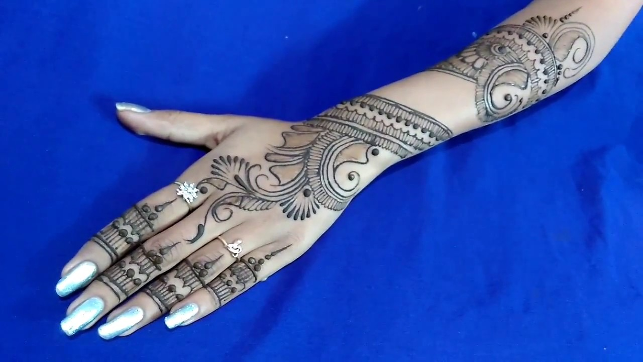 Henna Or Mehndi : Latest indo arabic henna or mehndi design ☆ in depth step by