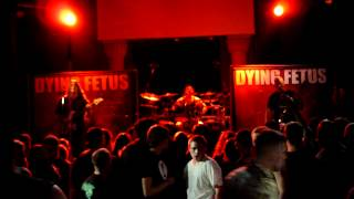 Dying Fetus FORNICATION TERRORISTS  Pittsburgh