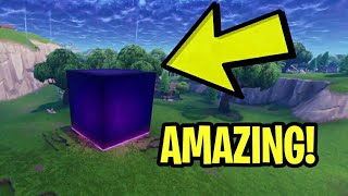 Fortnite: LIVE FOOTAGE Of The CUBE Activating! - Fortnite CUBE Moving In Replay Mode