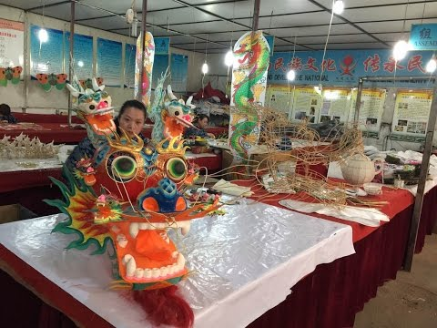 "How are Chinese kites made? Xinhua visits ""Kite Capital of the World"""