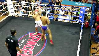 American Boy Destroys Muay Thai Warrior (Muay Thai)