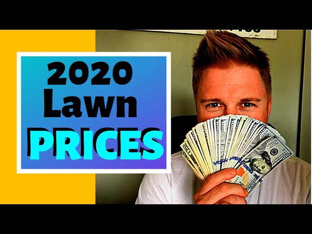 Lawn Care How to Price ( 2020 COMPLETE GUIDE FOR PRICING LAWN BUSINESS )