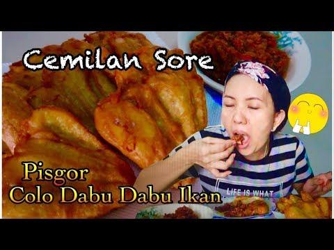 Pisang Goreng Crispy Dan Sambal (Dabu Dabu) Ikan Vegetarian / Makan Sambil Chit-Chat Dengan Anak