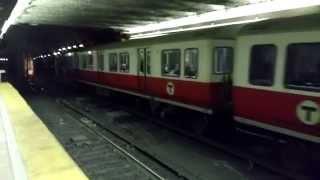 MBTA UTDC Type 2 Fleet #01700 departing South Station [Mobile Video]