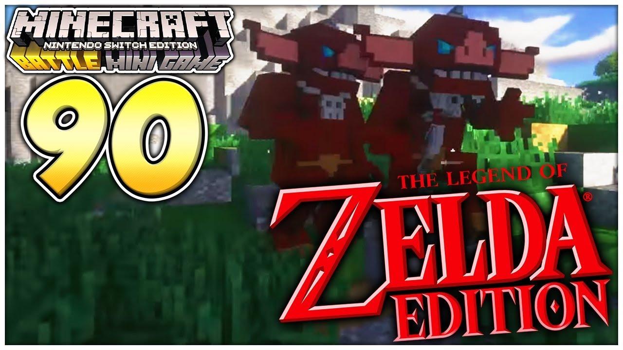 Zelda Edition Pack In Minecraft Switch Mehr Minecraft Battle Mini Game Switch Part 90 Youtube