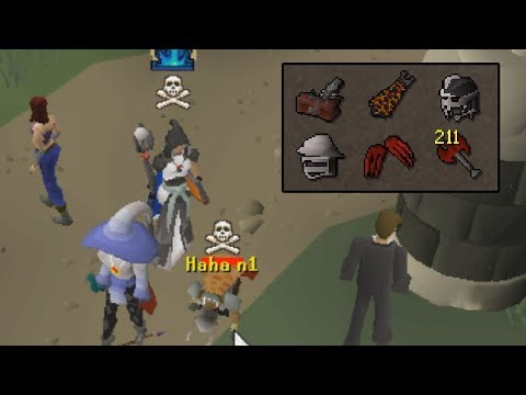 This setup was made to smite PKers