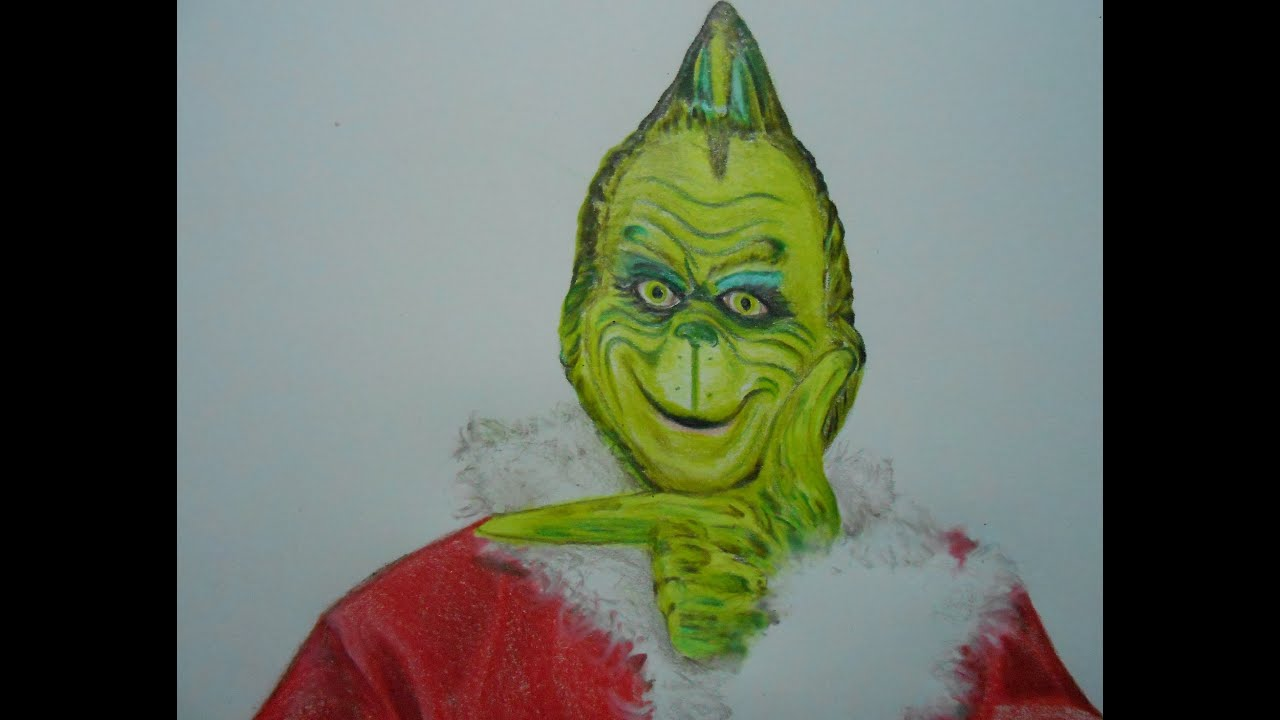How To Draw Christmas The Grinch