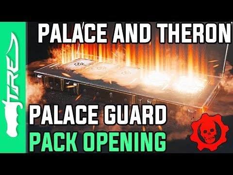 THERON AND PALACE GUARD ARE HERE! - Gears of War 4 Gear Packs Opening - 14 PALACE GUARD PACKS!