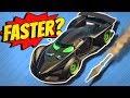 GTA 5 - Driving FASTER THAN A ROCKET?