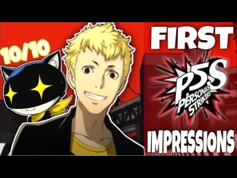 THIS GAME IS AMAZING - Persona 5 Strikers |