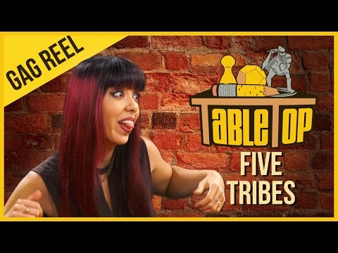 I just inhaled a bunch of TableTop gag reels! Watch the full episode of Five Tribes here: https://youtu.be/0bYD1TAmu3I Can