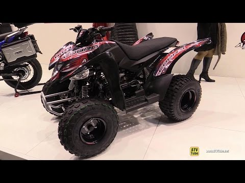 2015 Aeon Cobra 50 Sport ATV - Walkaround - 2014 EICMA Milan Motorcycle Exhibition
