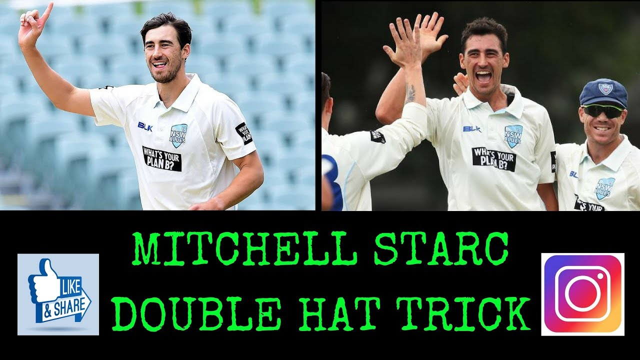 Mitchell Starc Double Hat Trick Unbelievable Youtube