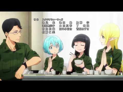 Gate Jieitai Kanochi nite, Kaku Tatakaeri Ending (TV Version)