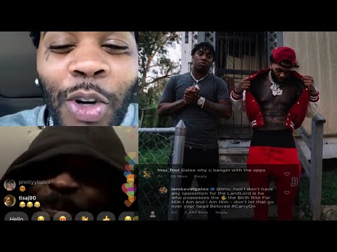 Kevin Gates Gets Confronted By YoungBoy Fans After Taking Pics With Fredo Bang!?