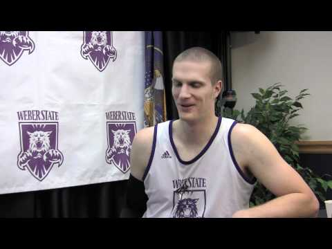 Kyle Bullinger talks about his elbow injury and Weber State basketball - Wildcat Webcast