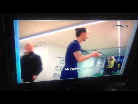 Zlatan Ibrahimovic VS Tony Chapron