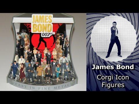 James Bond Corgi Icon Figures
