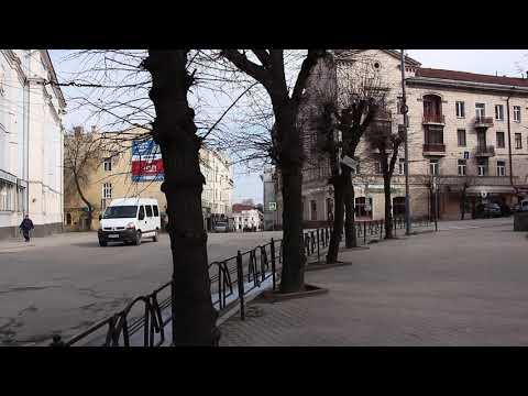 Погляд: Вулиці міста Чернівців суттєво спорожніли через карантин