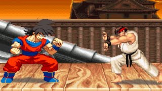 DBZ Goku VS Street Fighter 2 : Sprite Animation