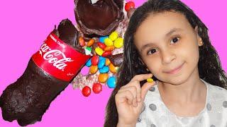 مريومة والكبير تحدي الكولا والشيكولاته