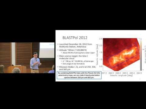 Peter Ashton : Submillimeter Polarization Spectra in Molecular Clouds