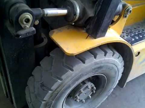 Forklift _ Lastik Delme Testi.3GP