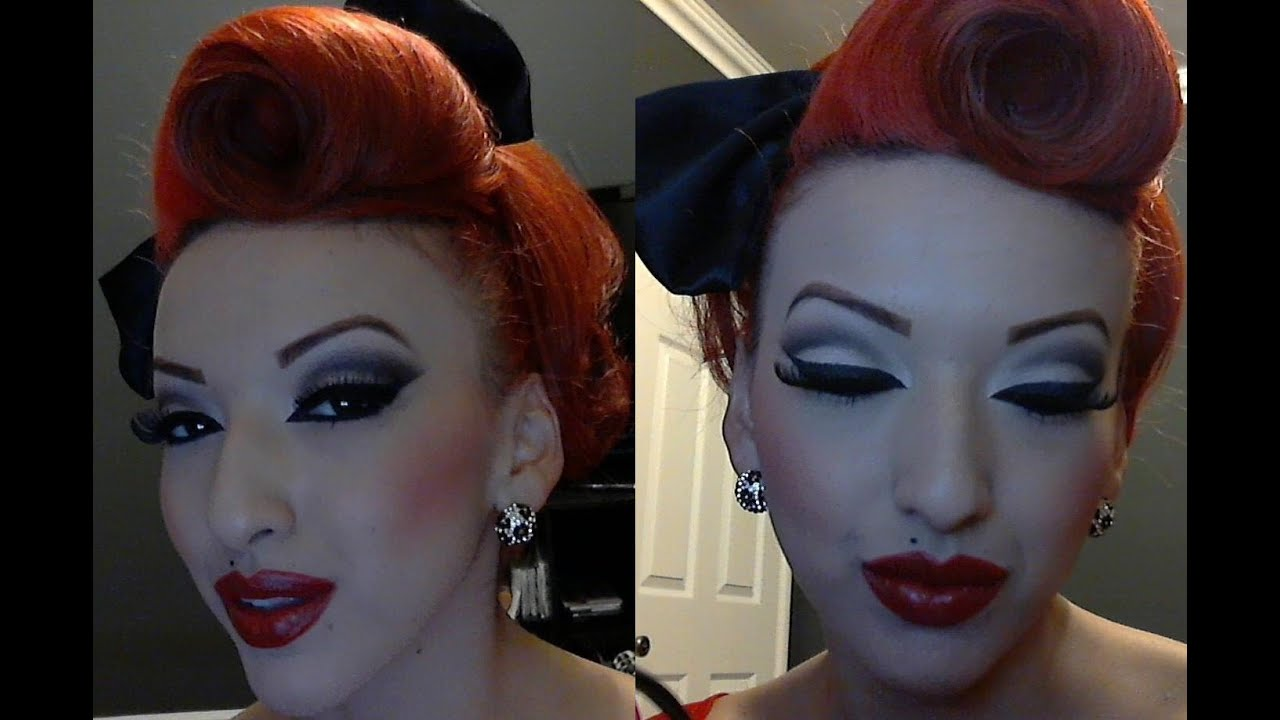 Part 1 modern vintage pinup makeup tutorial youtube part 1 modern vintage pinup makeup tutorial baditri Choice Image